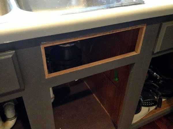 Sneaky Sink Storage False Drawer Fronts The Ugly