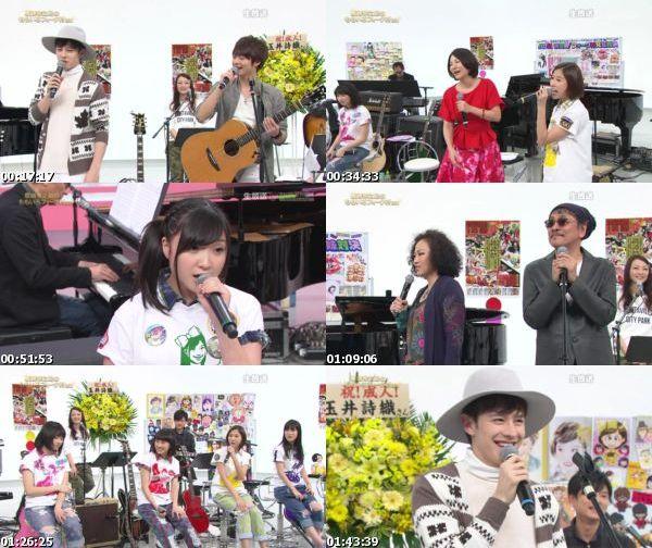 [TV-Variety] ももいろクローバーZ – 坂崎幸之助のももいろフォーク村NEXT 第55夜 (FujiTV Next 2015.01.28)