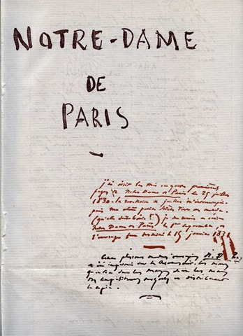 Notre_Dame_de_Paris_Victor_Hugo_Manuscrit_1