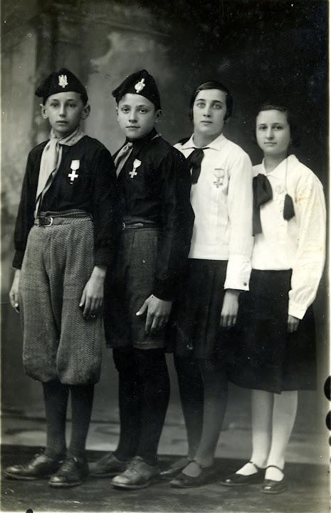 balilla 1933, pipei, pinu, ruseta, lineta - giuseppe ferraris, giuseppe oddino, rosalia fiandra, angela massa