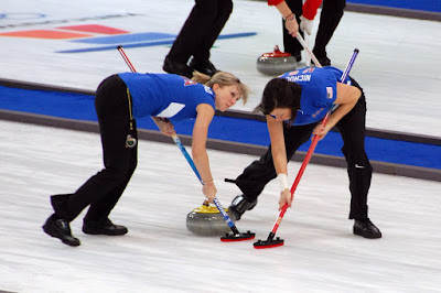 Creating a B2C product is not a sprint, nor a marathon. It's curling.