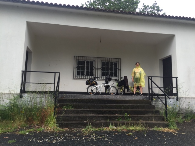 bicicleta-brompton-camino de -santiago