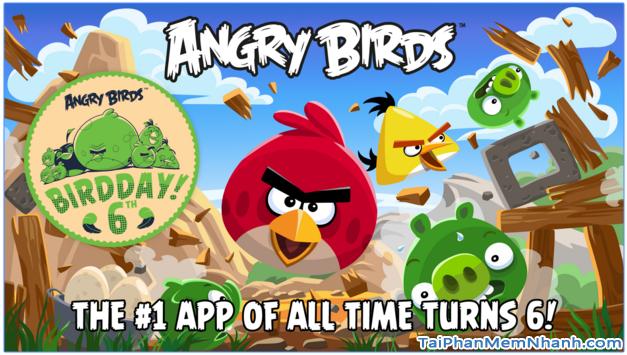 Giới thiệu và cách chơi game Angry Birds