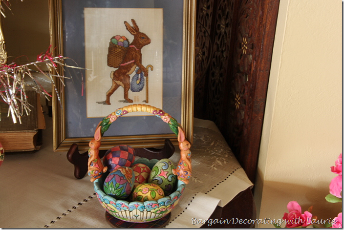 EASTER NEEDLEPOINT AND BASKET