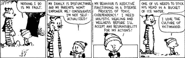 calvin as victim