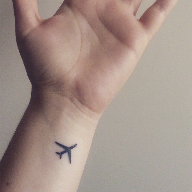 Fly High Think High Tattoo Design