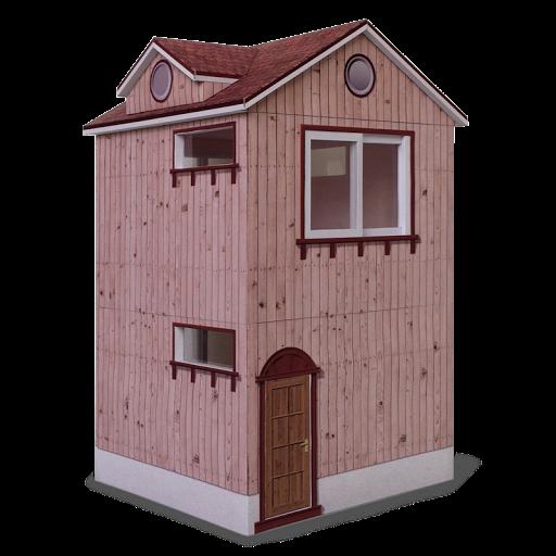papercraft;建築;紙模型;紙紮
