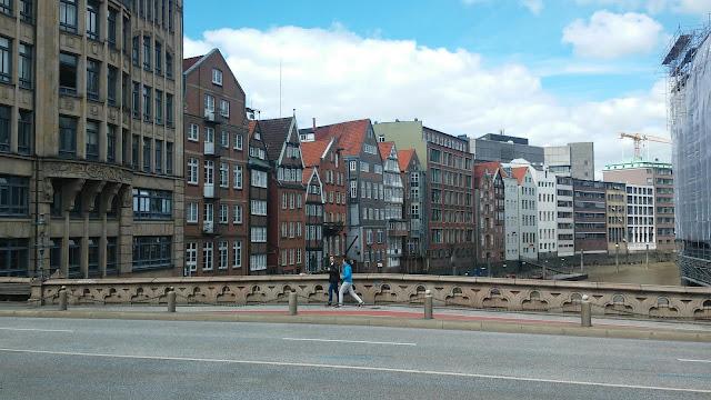 Deichstraße historische Häuser