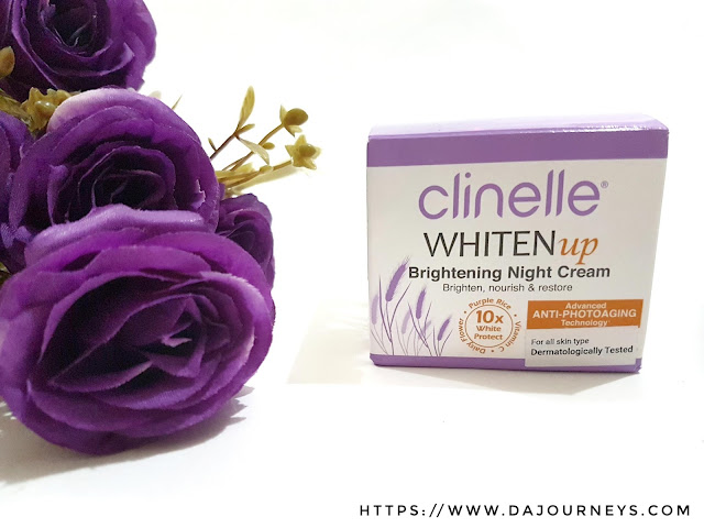 [Review] Clinelle Whiten Up Brightening Night Cream