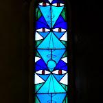 Chapelle Saint-Blaise-des-Simples : vitrail nord