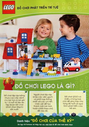 Đồ chơi LEGO là gì?