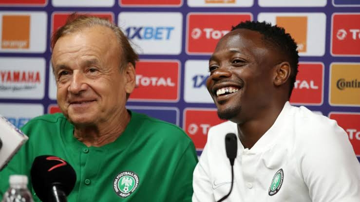 Rohr reacts as Ahmed Musa Joins Kano Pillars