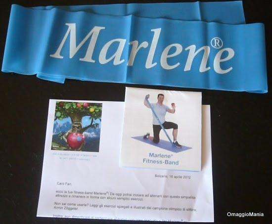 Fitness-Band in omaggio da Marlene