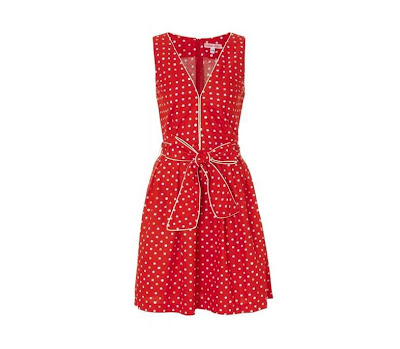 50s retro jurken candy girl rood wit