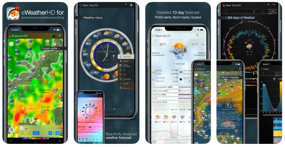 eWeather HD - Weather & Alerts