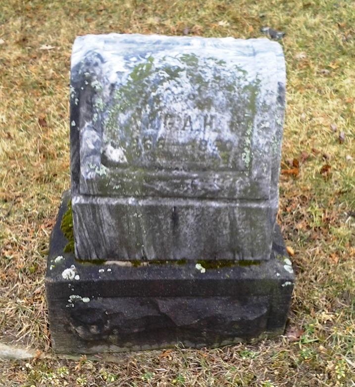 HART_Harland B_headstone_1890_MtHopeCem_LansingMI