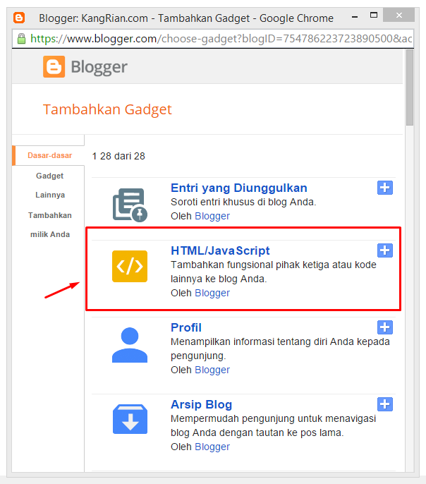 Cara Membuat Widget Recent Comment Disqus