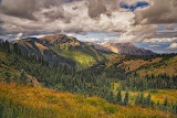 """Hurricane Hill Griff Peak"" by Roy Kropp - 2nd place print"