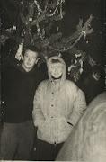 1969г.Фигуровка.Новый год.Под елочкой.