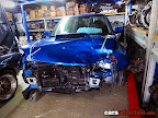 Rare Subaru Impreza STI V9 Spec C with minor damage