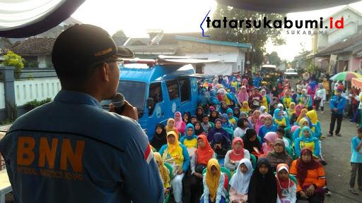 Say No Narkoba, Deklarasi Desa Bersinar Sukamantri Cisaat