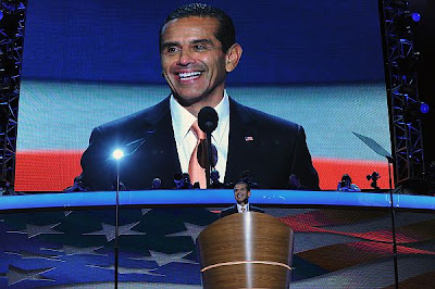 Antonio R. Villaraigosa, Chair of the 2012 Democratic National Convention Committee and Mayor of Los Angeles, address the delegates. The Democratic National Convention is under way today September 4th, 2012 in Charlotte, North Carolina.