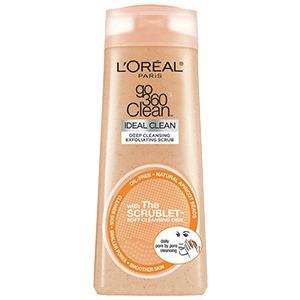 loreal face scrub
