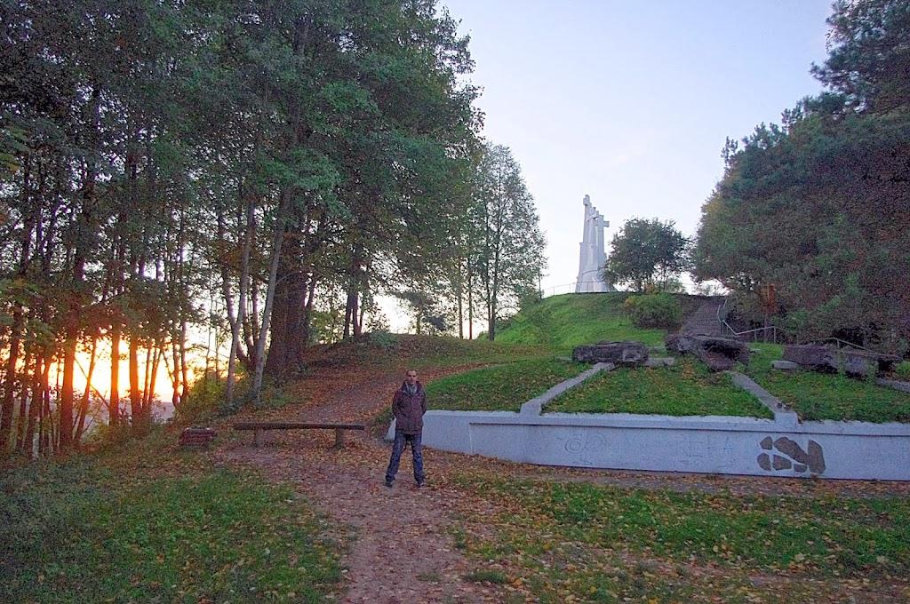 Qué ver en Vilna. Las tres cruces de Vilna, Vilnius