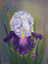 Photo: 16. Majestic Iris. 18 x 24 oil on canvas. $399.00