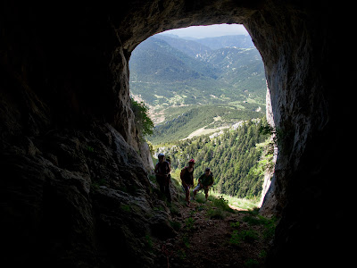Túnel a les Coves dels Talibans