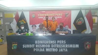 Polda Metro Jaya Ringkus Dua Pelaku Spesialis Ganjal ATM