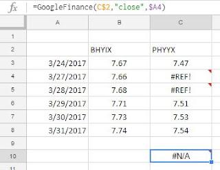 GoogleFinance Function not pulling the Last Price - Google Product ...