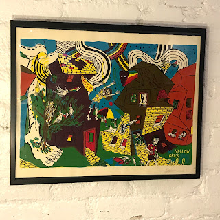 'Yellow Road' Signed Lithograph #1