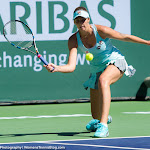 INDIAN WELLS, UNITED STATES - MARCH 17 : Karolina Pliskova in action at the 2016 BNP Paribas Open
