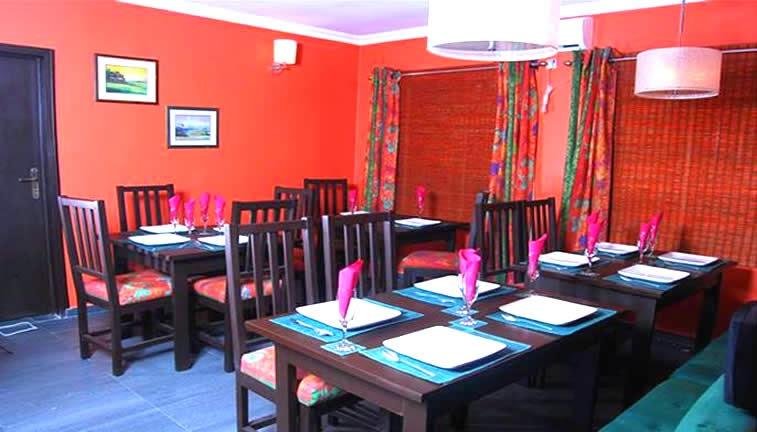 Limelite Hotels restaurant