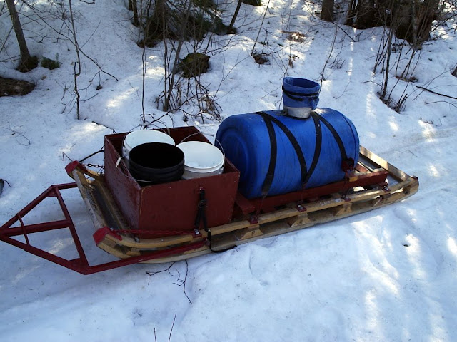 What do you think is the best firewood hauling sleigh design