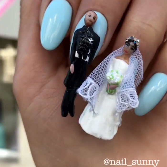 REGAL WEDDING NAIL WORKMANSHIP IS HERE IN 2019 1