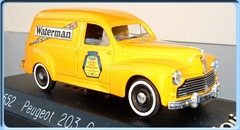 4552 Peugeot 203 commerciale Waterman 1954