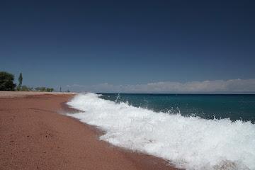 "Der Issyk Köl - das ""kirgisische Meer"""
