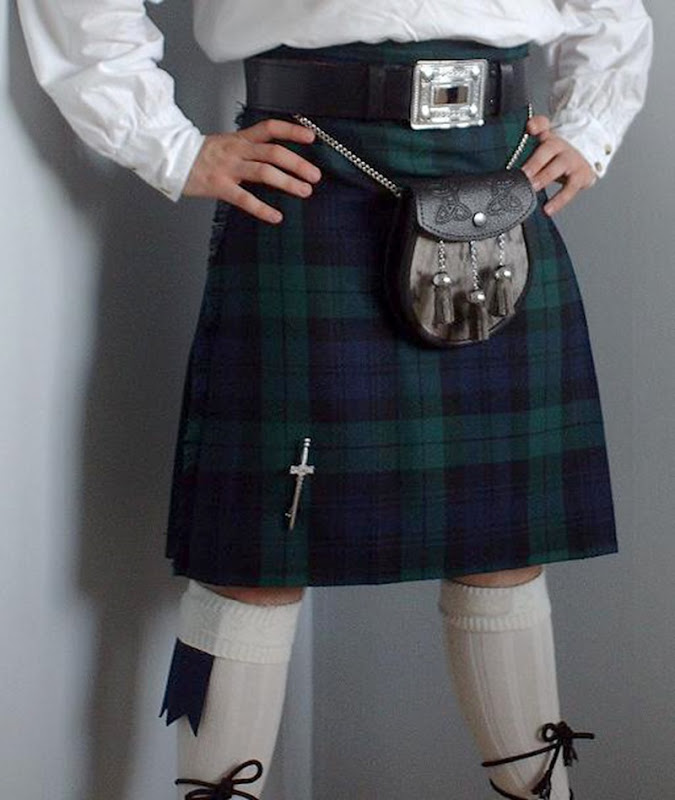 Kilt of the Royal Highland Regiment (known as the Black Watch)