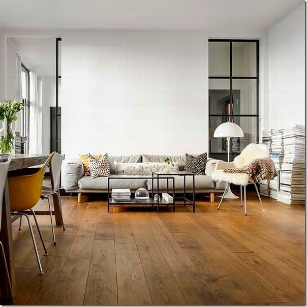 Decorare il tuo soggiorno con il bianco