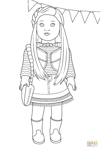 Coloring Pages To Print American Girl Beautiful Girl Bond Girl Boy And  Girl Head Boy And Girl With American Girl