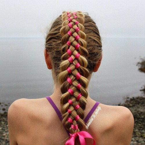 Cute Braided Hairstyles trendy for kids 2017 7