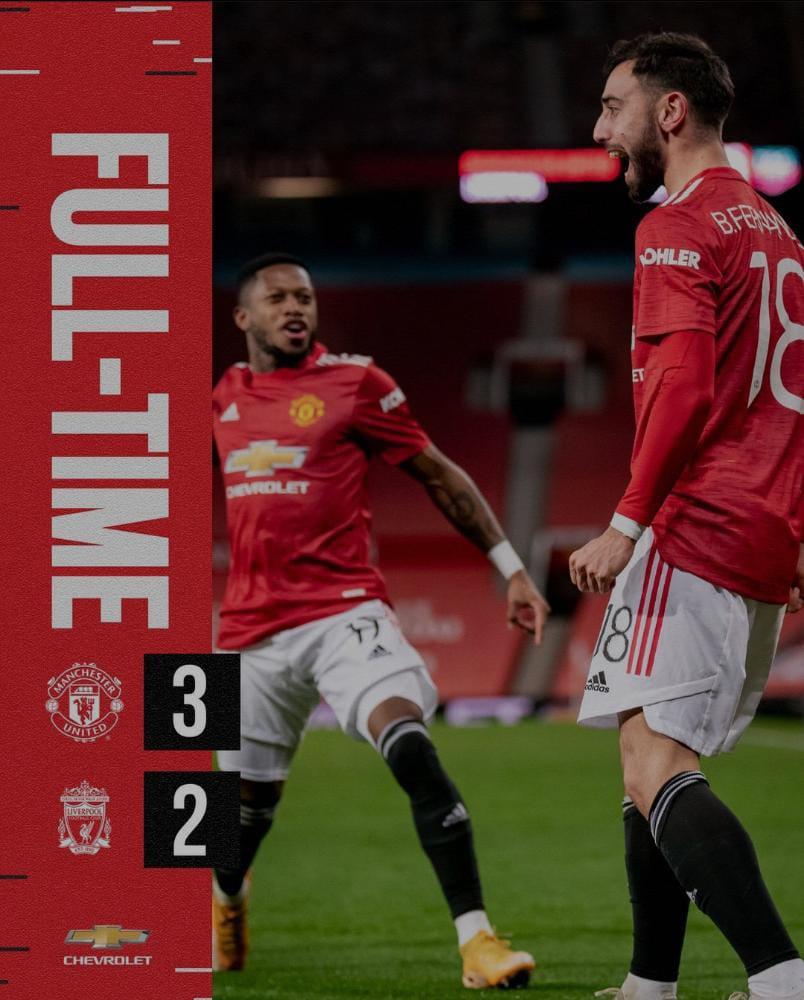Laga di FA Cup antara Manchester United vs Liverpool yang di adakan di Old Trafford stadium berakhir dengan skor 3-2. Liverpool harus menerima kekalahan dari Manchester United dan langkahnya terhenti untuk melaju ke babak 16 besar FA Cup.