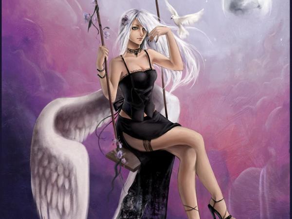 Angel On A Swing Rainbow, Angels 3