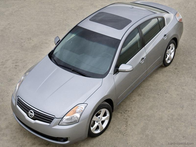 2008 nissan altima sedan specifications pictures prices rh cars specs com 2008 Nissan Maxima 2008 nissan altima sedan manual