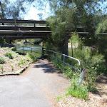 Walking under Fullers Bridge (346585)