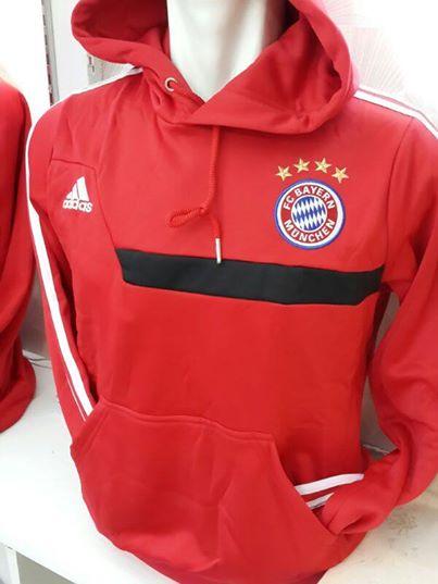Jual Hoodie Training Bayern Munchen Warna Merah