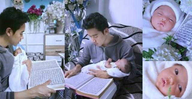 Anak Baru Lahir Dibacakan Al-Quran, Contoh Terbaik Seorang Ayah