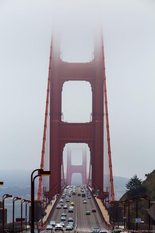 Vista Point San Francisco Golden Gate Bridge